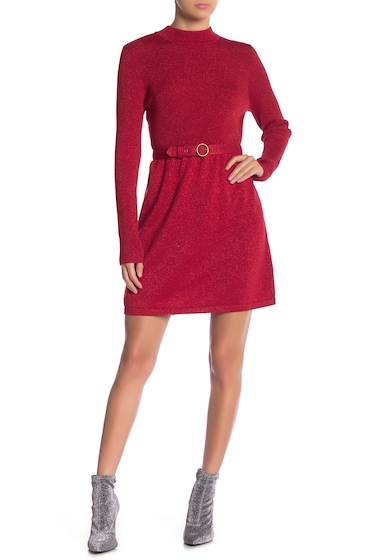 Imbracaminte Femei Free People Waist Belt Knit Dress RED