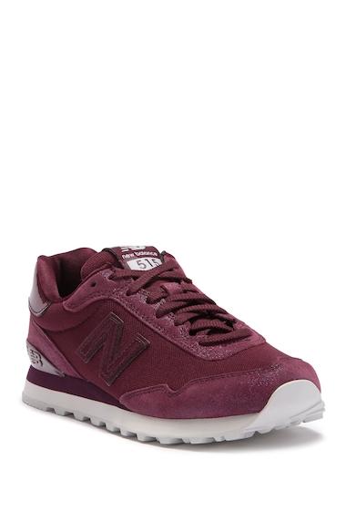 Incaltaminte Femei New Balance 515 Casual Sneaker BURGUNDY
