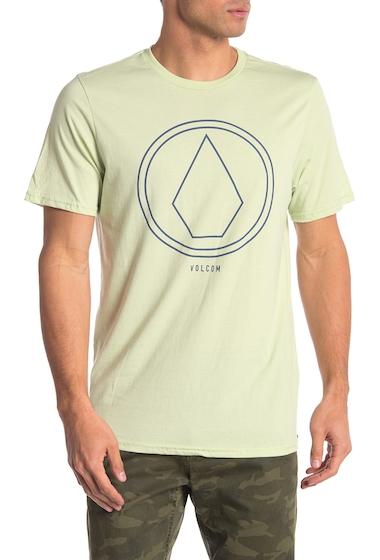 Imbracaminte Barbati Volcom Pin Line Stone Short Sleeve Shirt GREEN MIST