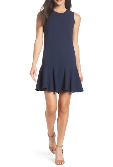 Imbracaminte Femei Charles Henry Gored Tank Dress NAVY