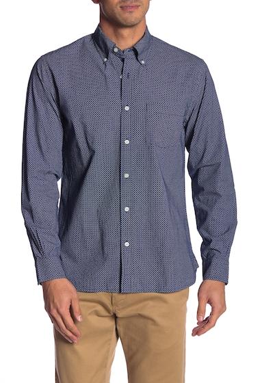 Imbracaminte Barbati Brooks Brothers Micro Print Regent Fit Sport Shirt NAVY