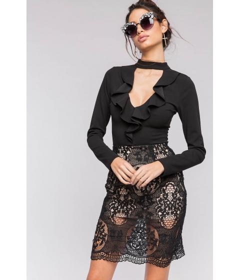 Imbracaminte Femei CheapChic Lace Pencil Skirt Black