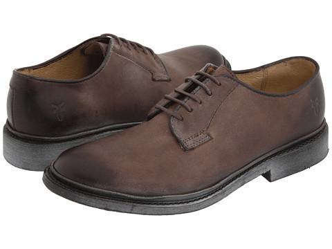 Incaltaminte Femei Frye James Oxford Dark Brown Vintage Leather