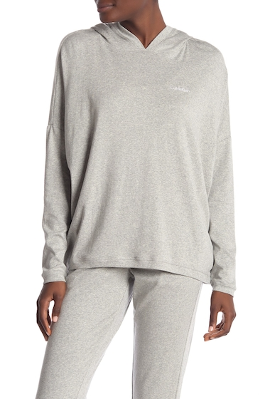 Imbracaminte Femei Calvin Klein Long Sleeve Hoodie 020 GREY HEATHE
