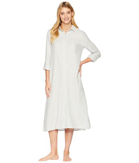 Imbracaminte Femei LAUREN Ralph Lauren Long Sleeve Roll Cuff Ballet Sleepshirt Grey Heather Print