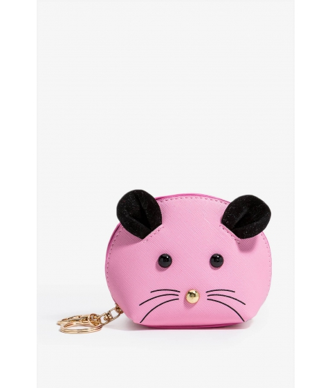 Genti Femei CheapChic Mouse Keychain Coin Purse Pastel Pink