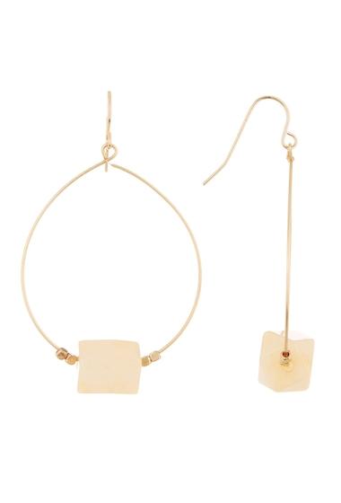 Bijuterii Femei Melrose and Market Geo Stone Drop NATURAL- GOLD