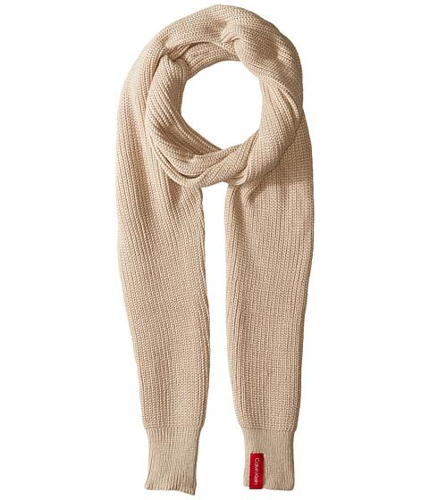 Accesorii Femei Calvin Klein Sleeve Scarf Heatherd Almond