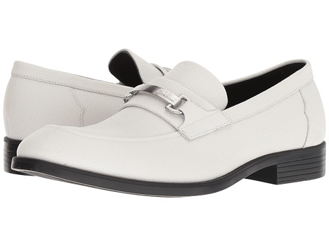 Incaltaminte Barbati Calvin Klein Craig Off-White Scotch Grain Leather
