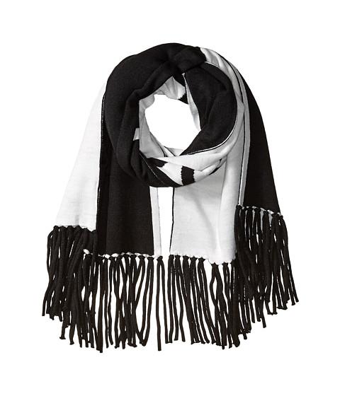 Accesorii Femei Calvin Klein Graphic Logo Jacquard Scarf Black