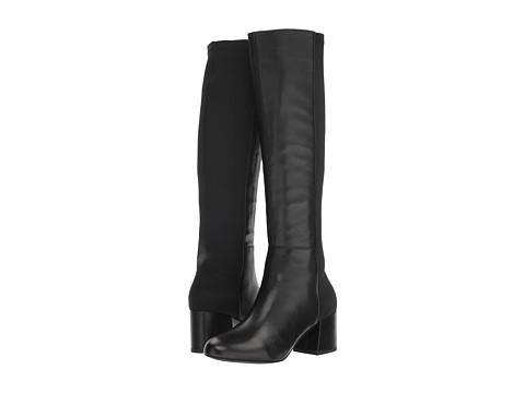 Incaltaminte Femei Steve Madden Hero Boot Black Leather