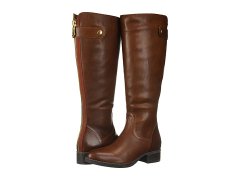 Incaltaminte Femei Steve Madden Journal Riding Boots Cognac Leather