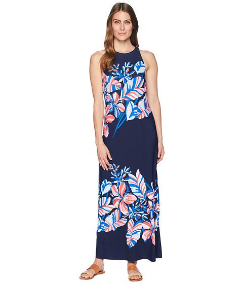 Imbracaminte Femei Tommy Bahama Le Tigre Floral Maxi Dress Ocean Deep
