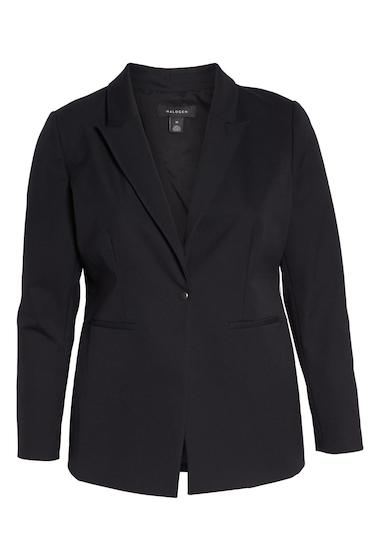 Imbracaminte Femei Halogen Fitted Blazer Regular Petite BLACK