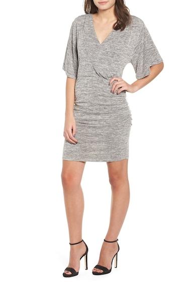 Imbracaminte Femei Leith Wrap Dress Regular Plus Size GREY CLOUDY HTHR