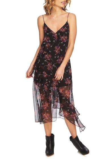 Imbracaminte Femei 1State Wildflower Ruffle Slipdress R BLK MULT