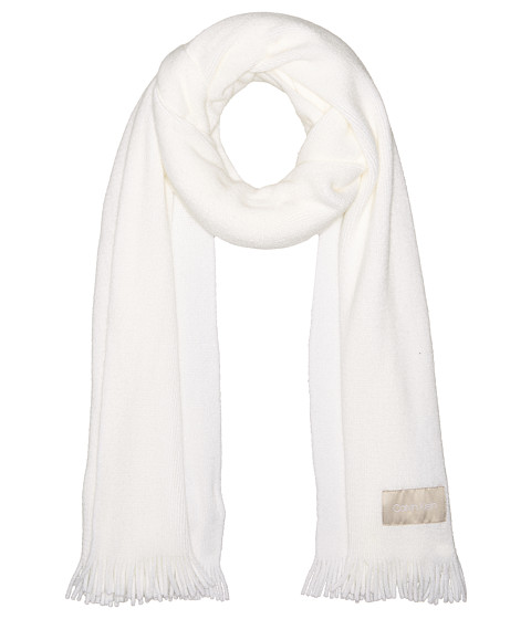 Accesorii Femei Calvin Klein Basic Wrap Knit Scarf Eggshell
