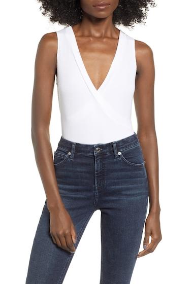 Imbracaminte Femei Leith Ribbed Bodysuit WHITE
