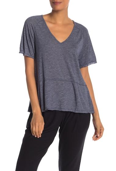 Imbracaminte Femei Michael Stars Short Sleeve Peplum T-Shirt PASSPORT