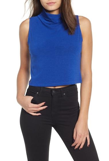 Imbracaminte Femei Leith Sleeveless Crop Top Regular Plus Size BLUE MAZARINE