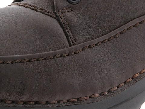 Incaltaminte Barbati Rockport World Tour Elite Encounter Dark Brown Tumbled Leather