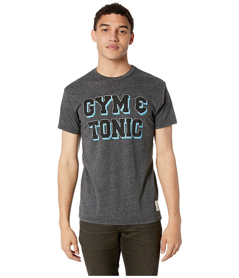 Imbracaminte Barbati The Original Retro Brand Gym amp Tonic Mock Twist Short Sleeve Tee Mock Twist Black