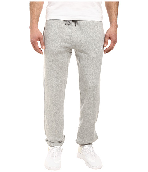 Imbracaminte Barbati Nike Club Fleece Cuffed Pant Dark Grey HeatherWhite