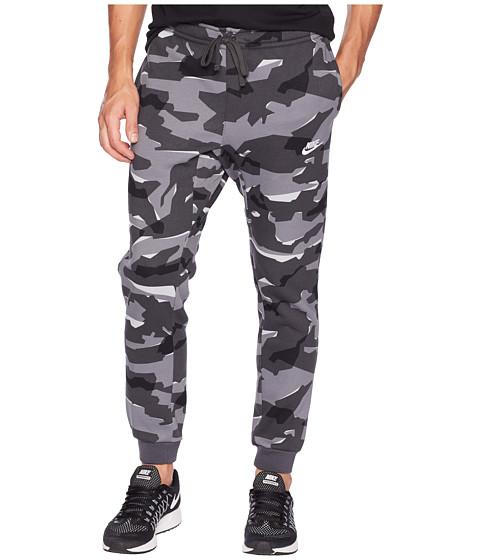 Imbracaminte Barbati Nike NSW Club Camo Jogger BB Cool GreyAnthraciteWhite