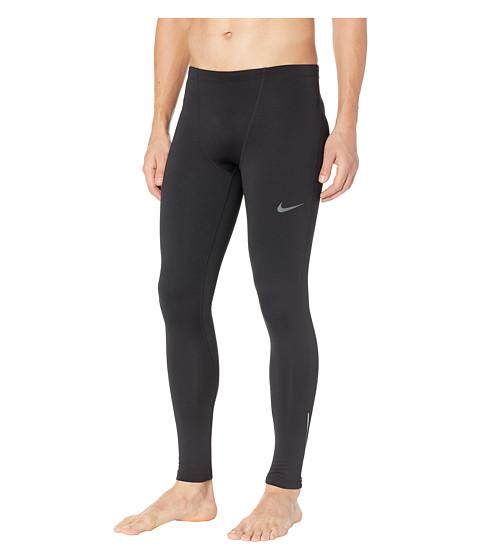 Imbracaminte Barbati Nike Thermal Run Tights Black