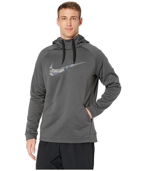 Imbracaminte Barbati Nike Therma Hoodie Pullover Camo AnthraciteAnthracite