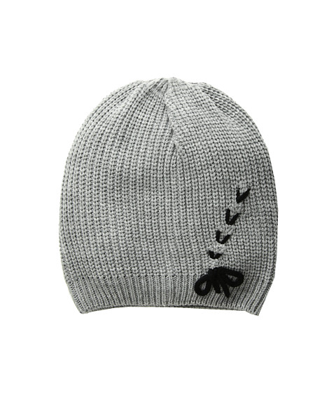 Accesorii Femei Vince Camuto Laced-Up Beanie Grey Heather