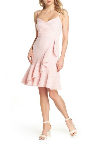 Imbracaminte Femei J Crew Spaghetti Strap Ruffle Dress BRIGHT CORAL