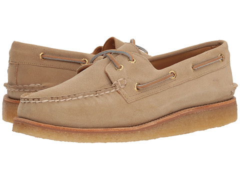 Incaltaminte Barbati Sperry Top-Sider Gold AO 2-Eye Crepe Suede Sand