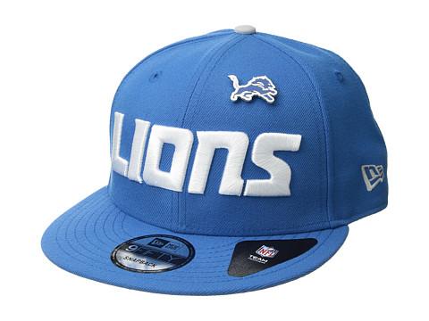Accesorii Barbati New Era Detroit Lions Pinned Snap Blue