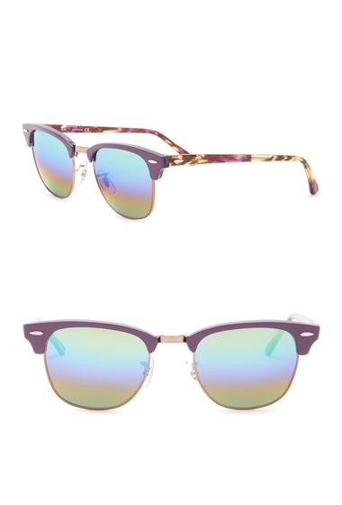 Ochelari Barbati Ray-Ban 51mm Clubmaster Sunglasses VIOLET