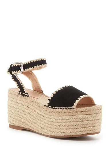Incaltaminte Femei Pour La Victoire Ria Espadrille Platform Sandal BLACK