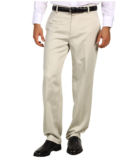 Imbracaminte Barbati Dockers Never-Irontrade Essential Khaki D3 Classic Fit Flat Front Pant Stone