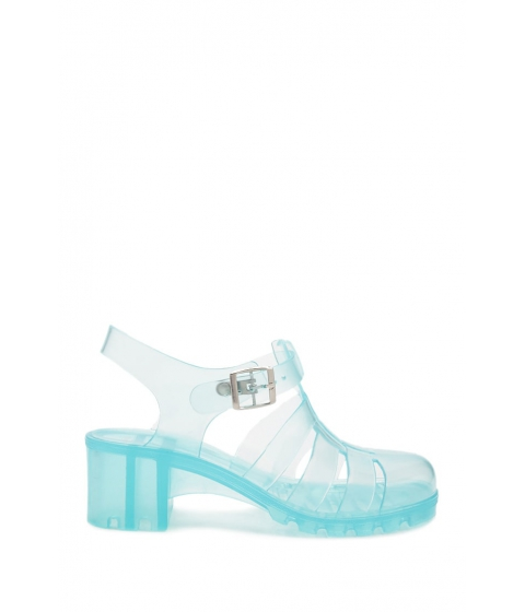 Incaltaminte Femei Forever21 Caged Jelly Sandals MINT