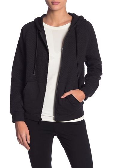 Imbracaminte Femei Marc New York Puff Knit Zip Up Jacket BLACK