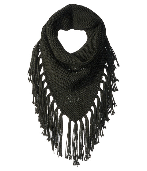 Accesorii Femei Steve Madden Triangle Snood with Fringe Military
