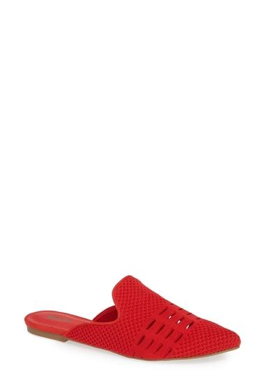 Incaltaminte Femei MIA Tina Open Knit Mule Women RED FLY KN