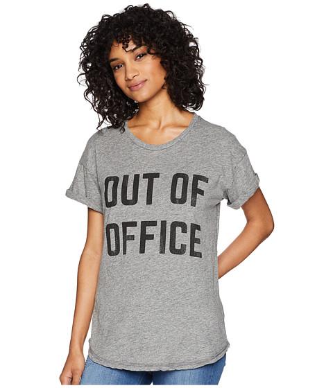 Imbracaminte Femei The Original Retro Brand Out of Office Short Sleeve Mocktwist Tee Mocktwist Heather Grey