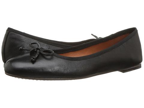 Incaltaminte Femei COACH Lola Ballet Black Leather