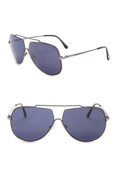 Ochelari Barbati Tom Ford Chase 61mm Aviator Sunglasses SDKRUTH-BLU