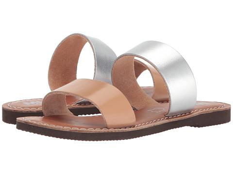 Incaltaminte Femei MIA Nila TanSilver Leather