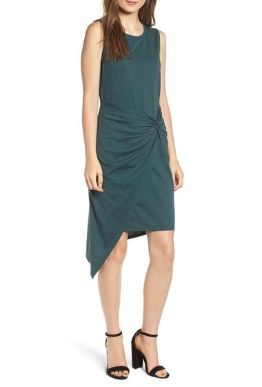 Imbracaminte Femei Chelsea28 Twist Front Dress GREEN GABLES