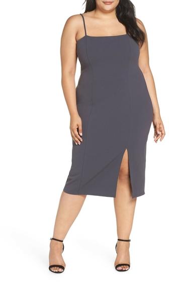 Imbracaminte Femei Leith Body-Con Dress Plus Size GREY METEOR