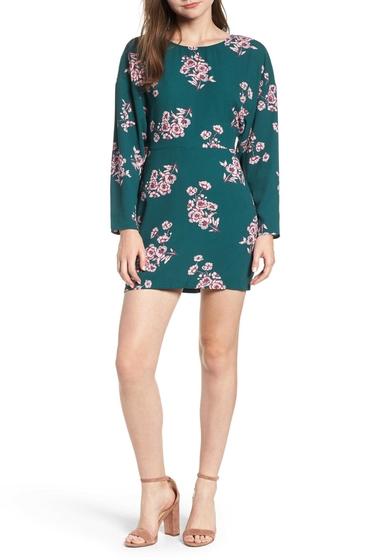 Imbracaminte Femei Leith Floral Minidress Regular Plus Size GRN BUG SHDW FLORAL