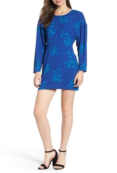 Imbracaminte Femei Leith Floral Minidress Regular Plus Size BLUE MAZ SHDW FLORAL