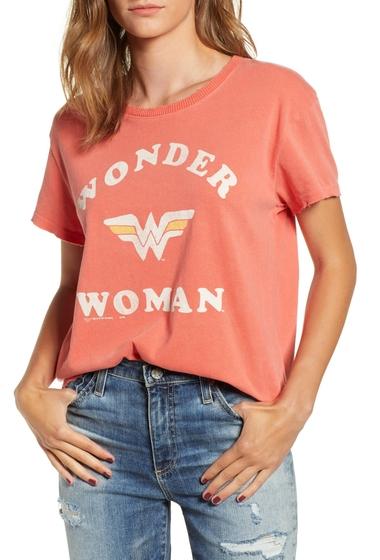 Imbracaminte Femei JUNKFOOD Wonder Woman Cotton Tee JASPER